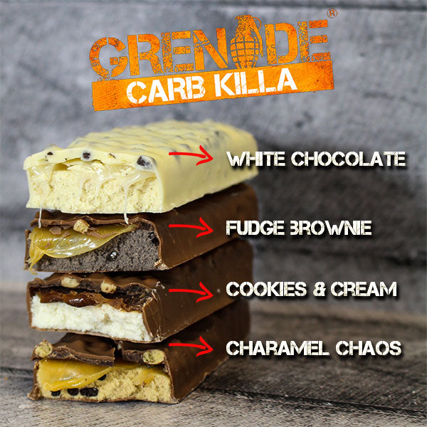 Grenade Carb Killa Bars Protein Review