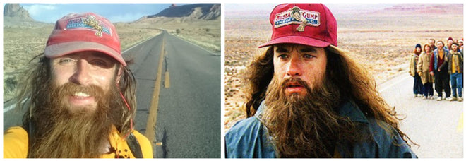 Rob Pope Forrest Gump running across America USA