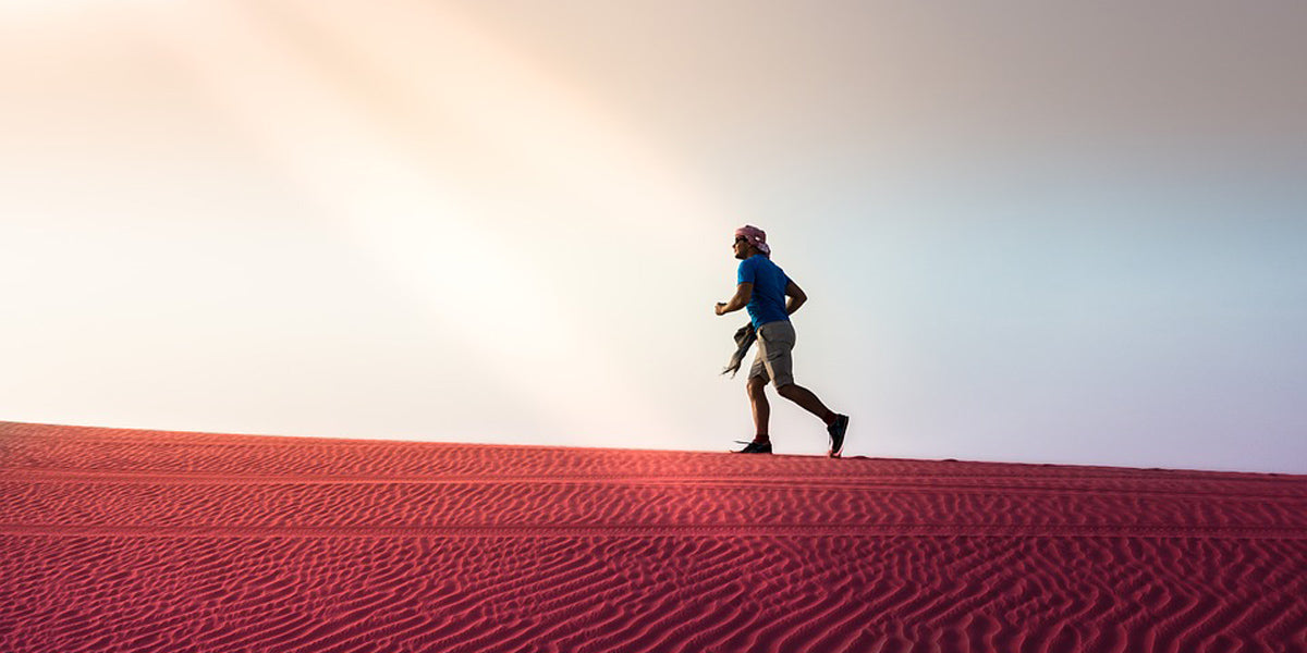 distance running desert ultra marathon stress Sundried