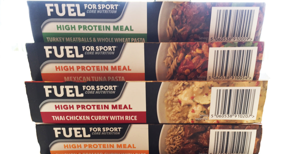 fuel for sport core nutrition sundried meal prep review
