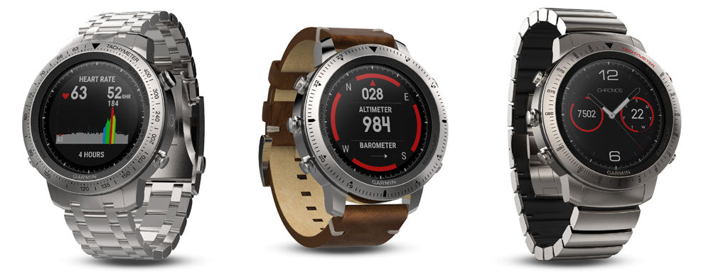 Garmin Fenix Chronos Activity Smart Watch Tracker Fitness
