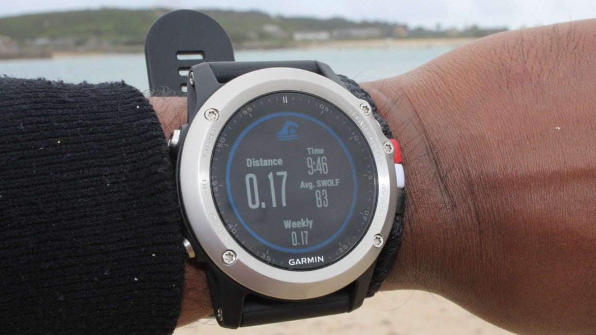 garmin fenix 3 for step counting and running sundried
