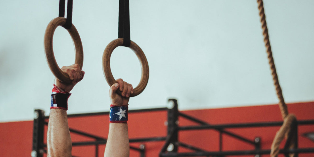 gym rings gymnastics CrossFit metcon workout fitness