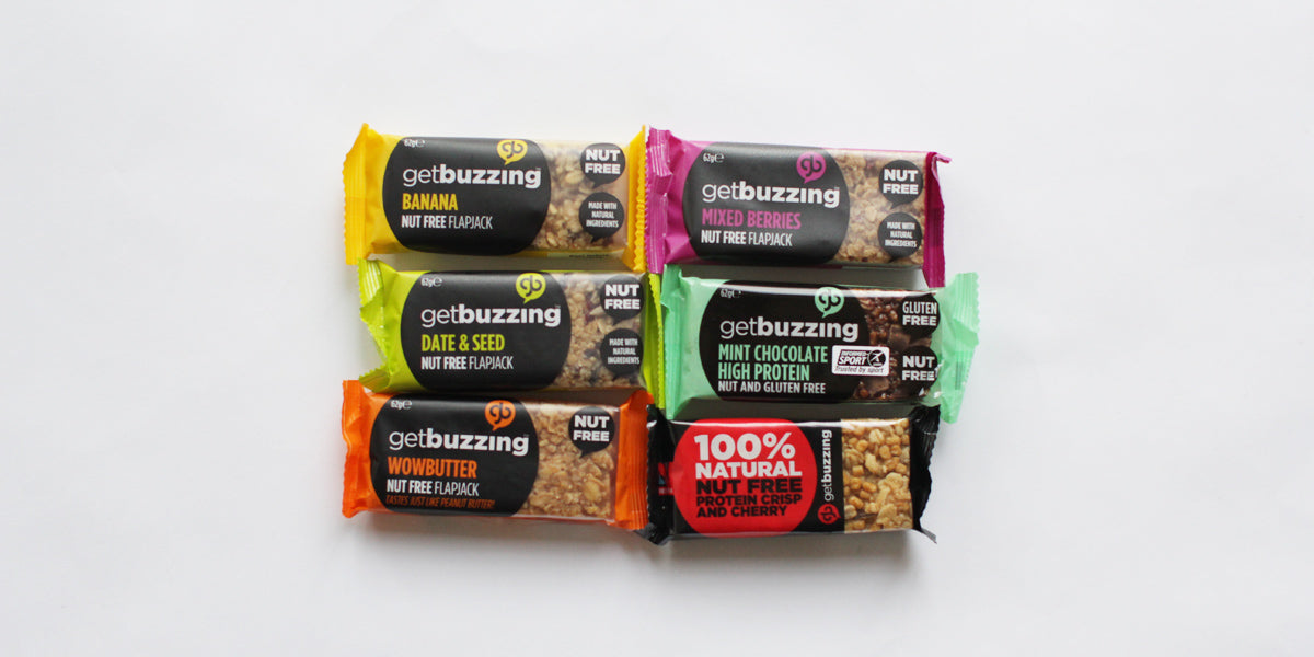 Flavours Nut Free Healthy bars