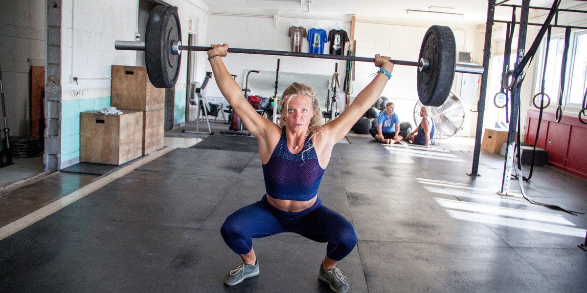 Overhead Squat Weightlifting CrossFit