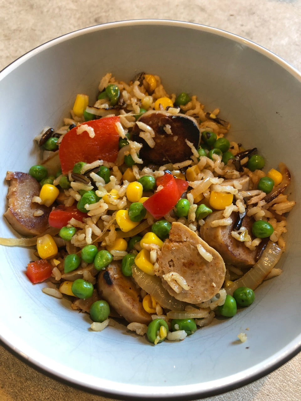 healthy chicken stir fry dinner idea