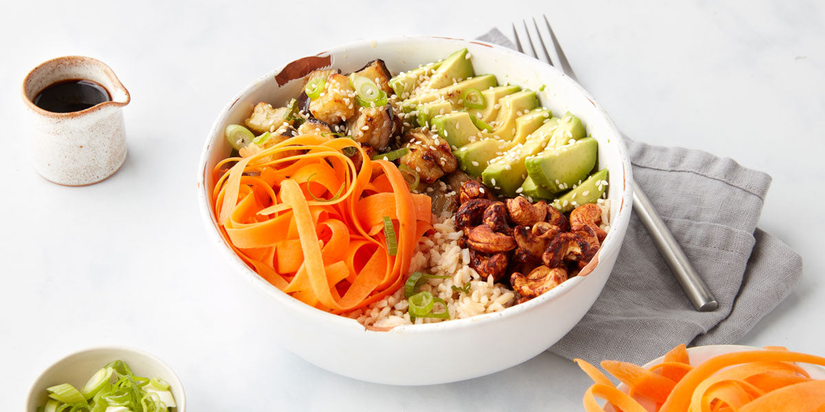 healthy vegan recipe Buddha bowl Mindful Chef