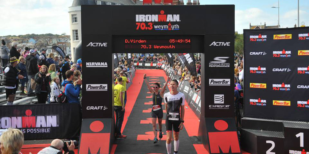Ironman Weymouth Finish 2017