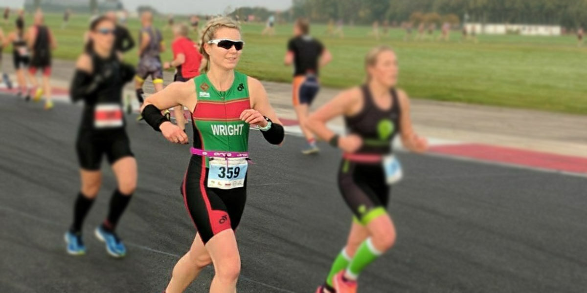 helene wright triathlon running