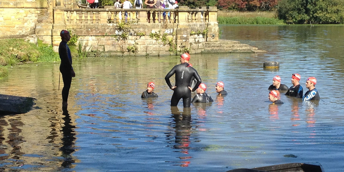 Hever Castle Triathlon Training Swim Bike Run