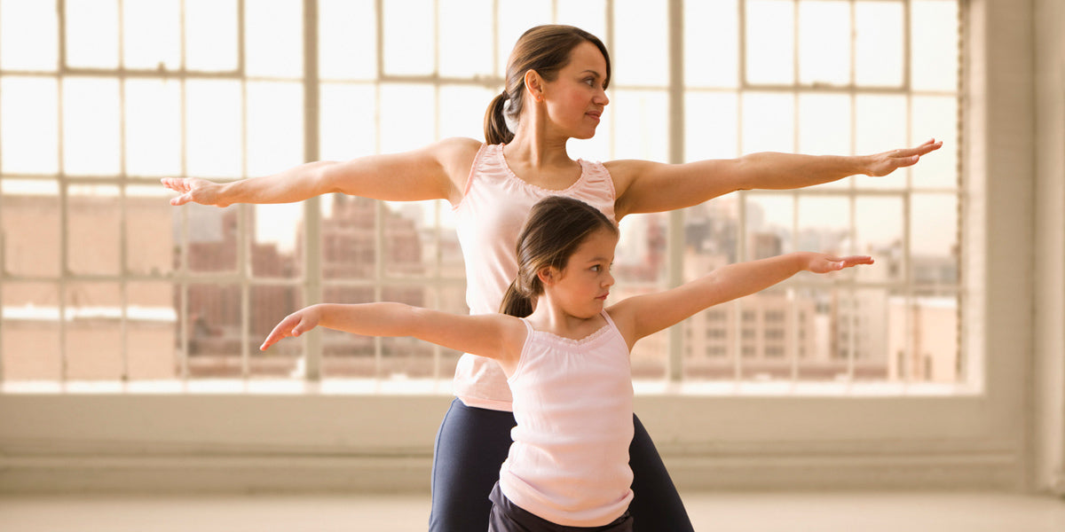 How to exercise when you have kids at home working mom