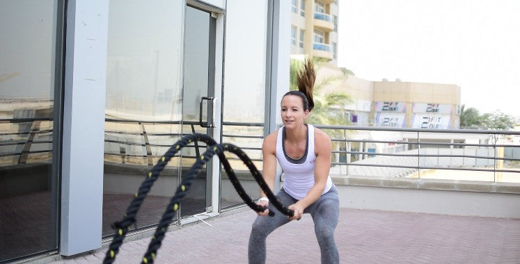 Sundried Anna Holmes Battle Ropes Activewear