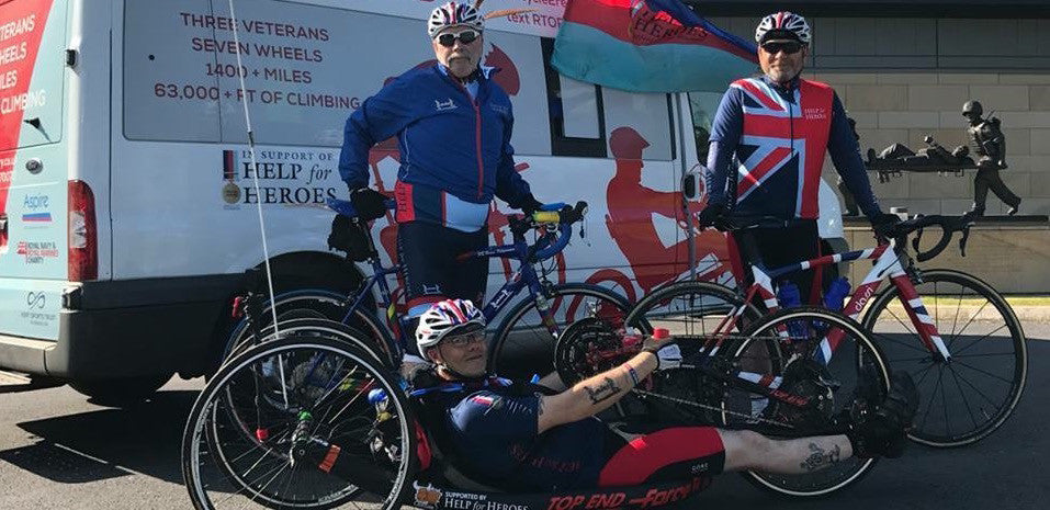 Lee Patmore Handcycle Fibromyalgia Help For Heroes