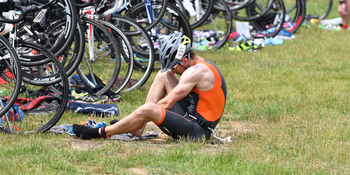 improve your transition times training triathlon