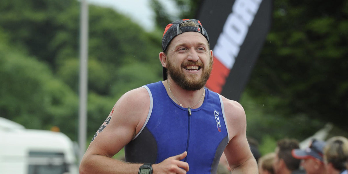Ironman Exmoor 70.3 triathlon running athlete