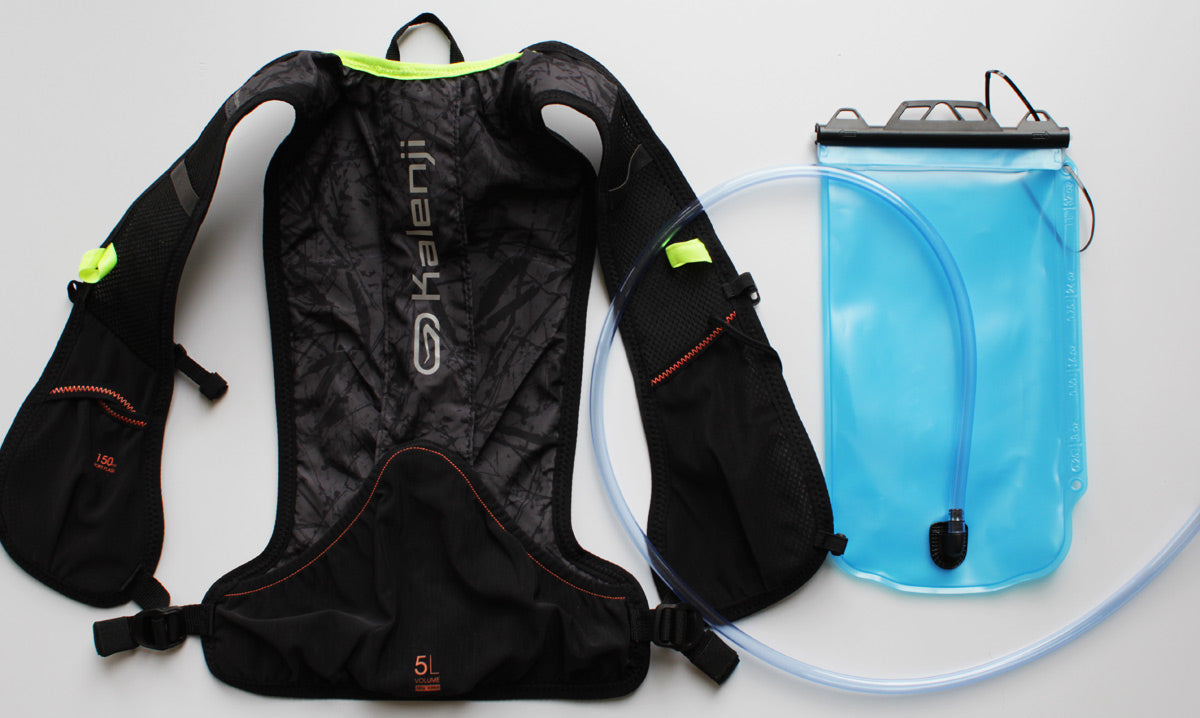 Sundried Kalenji running hydration bag review