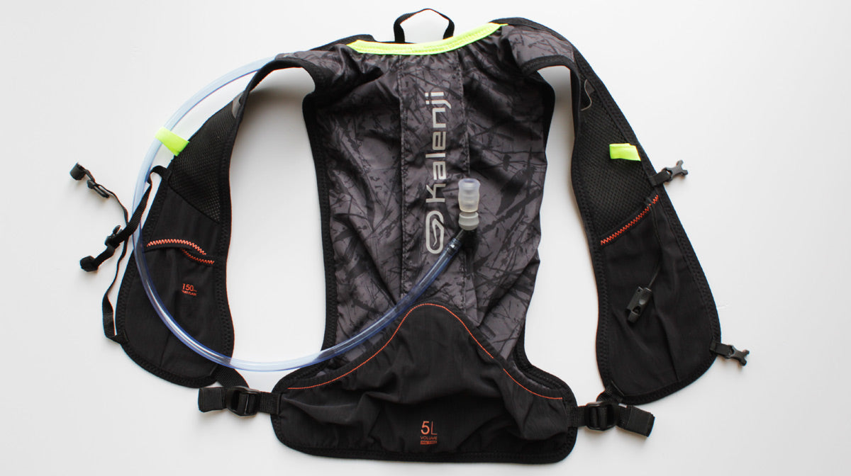 Kalenji hydration bag running trail pack hydrtion vest