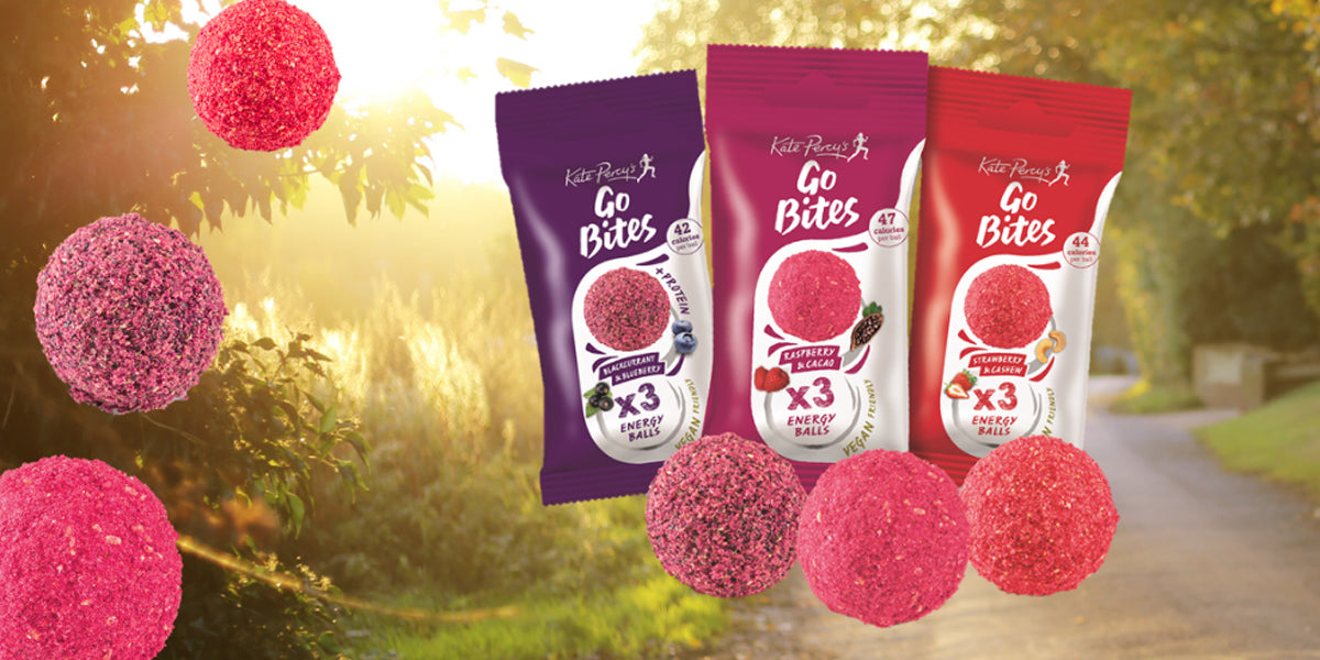 Kate Percy Go Bites fitness healthy snack
