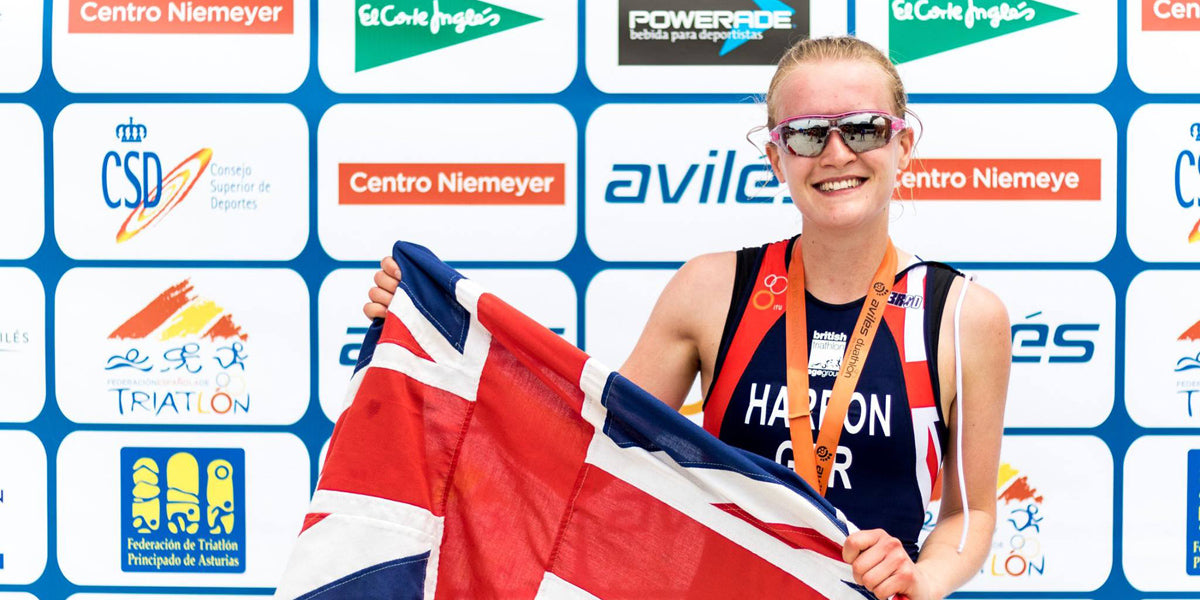 Katie Harbon Sundried Triathlon Winner Britain