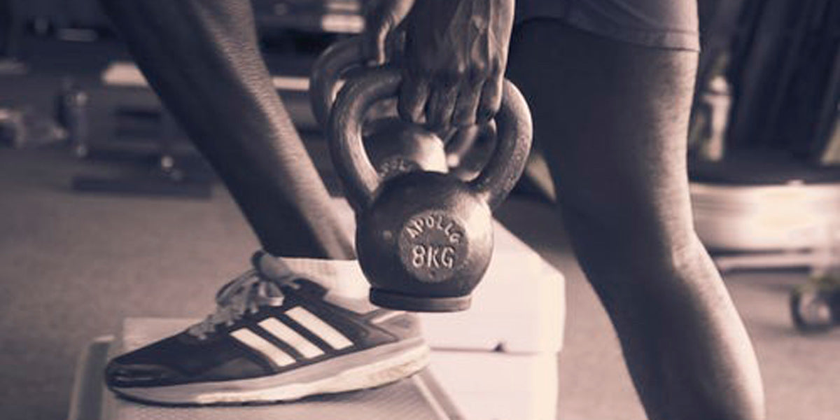 kettlebell exercise workout fitness