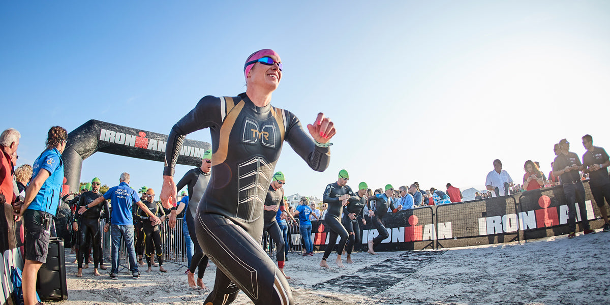 Ironman Mallorca 70.3 swimming
