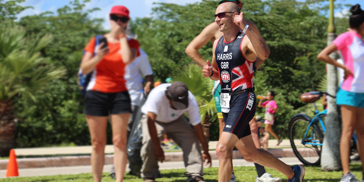 Leigh Harris Running Triathlon Triathlete