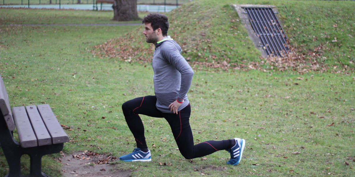 lunge warm up workout stretch exercise