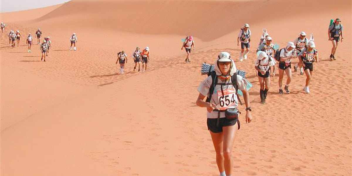 marathon des sables running race