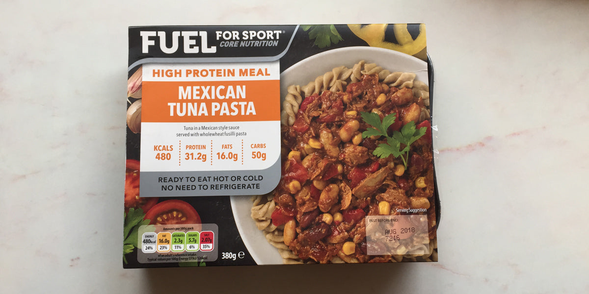 mexican tuna pasta high protein meal