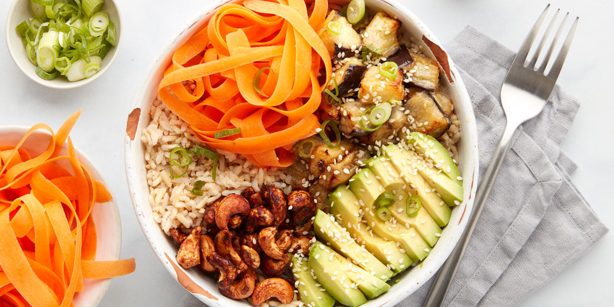 Mindful Chef healthy vegan recipe Buddha bowl