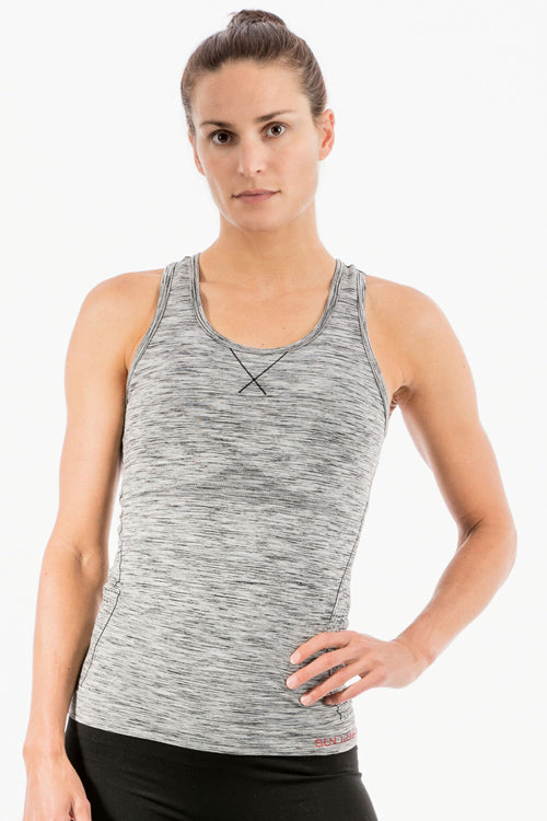 Sundried Monte Rosa seamless yoga vest top for ladies