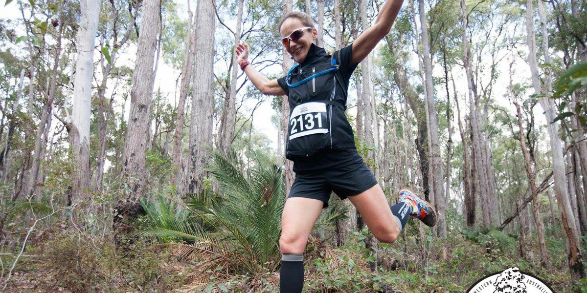 Natasha Pertwee Running Trail Run