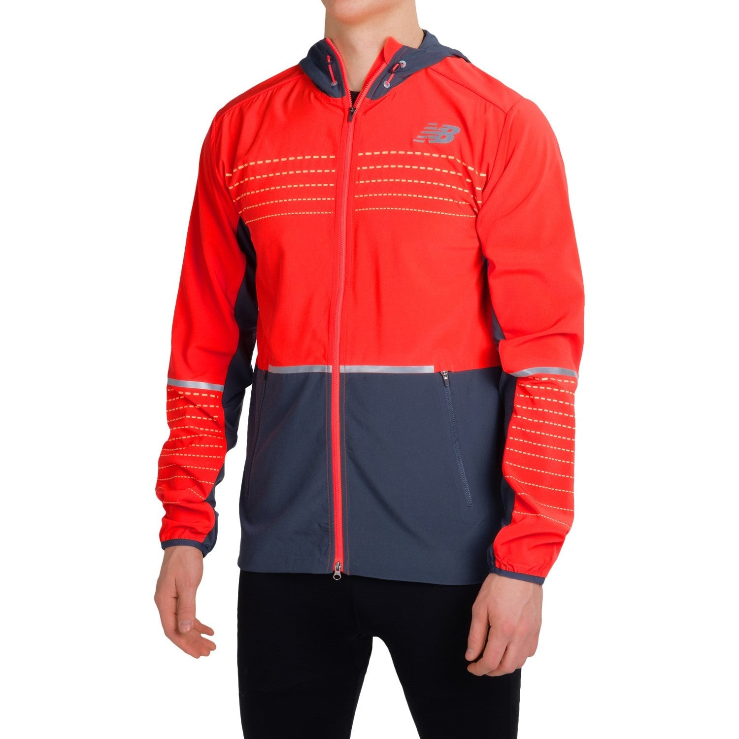 New Balance Beacon Running Jacket Sundried