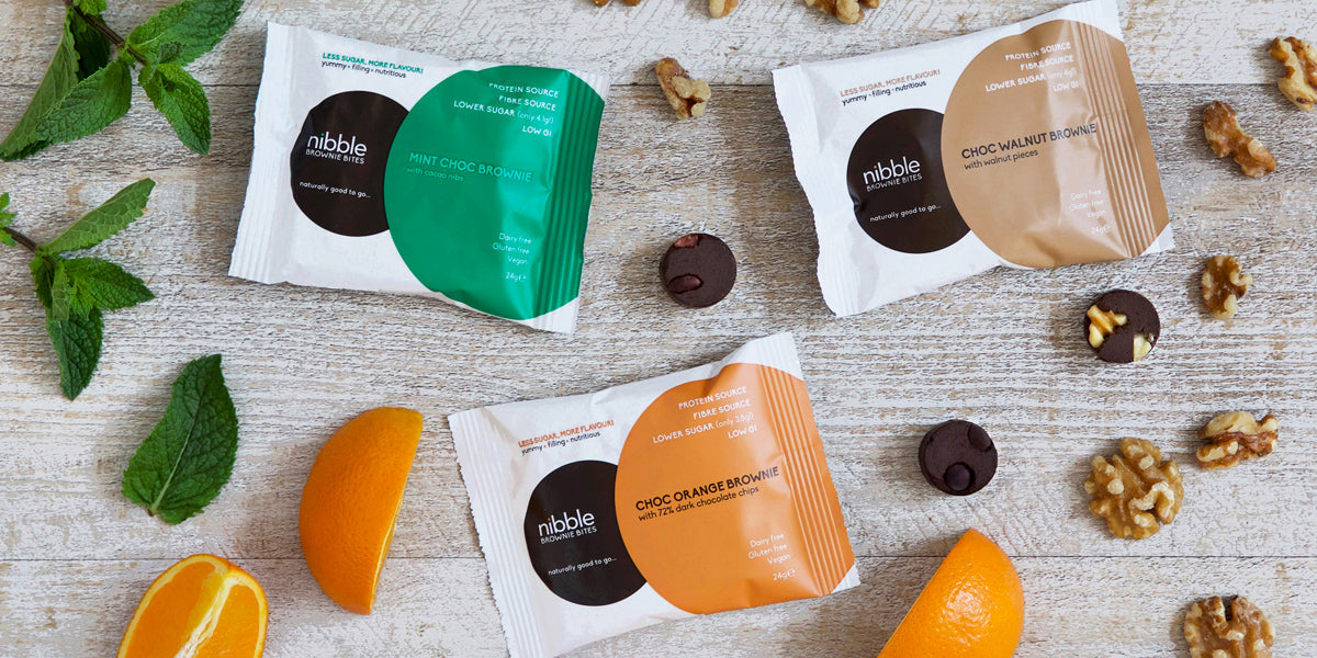 Nibble Protein Brownie Bites Review Sundried