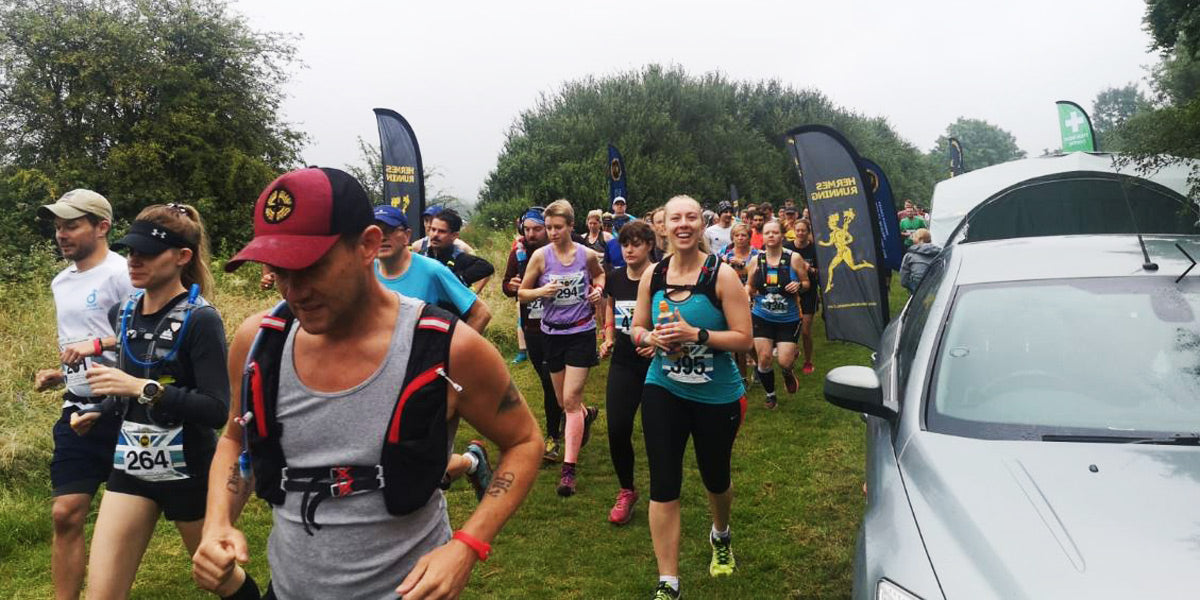 North Downs Way Half Marathon Hermes Running Start