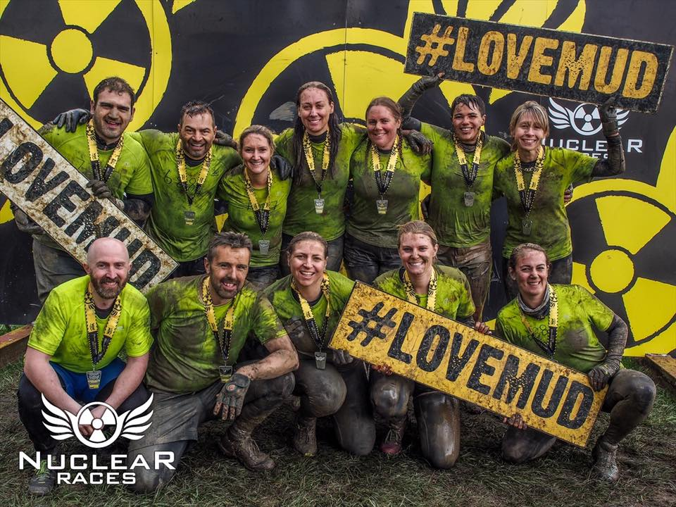 Nuclear Races Mud OCR Obstacle Course Race