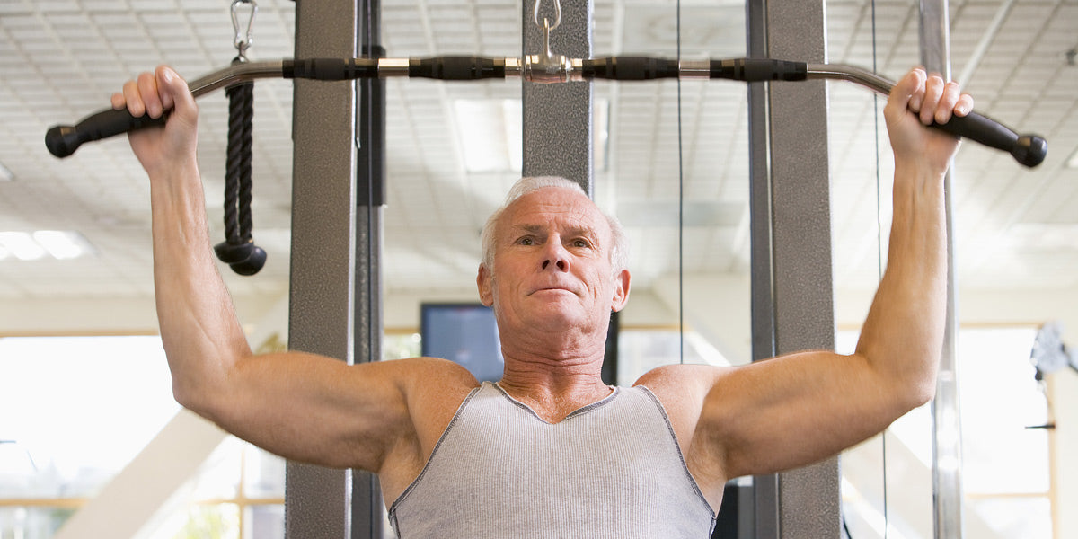 resistance training weights older get fit as you age old man