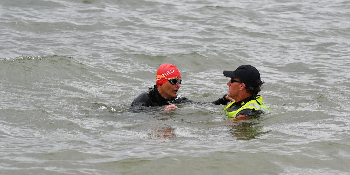 Sundried open water triathlon swimming fears advice
