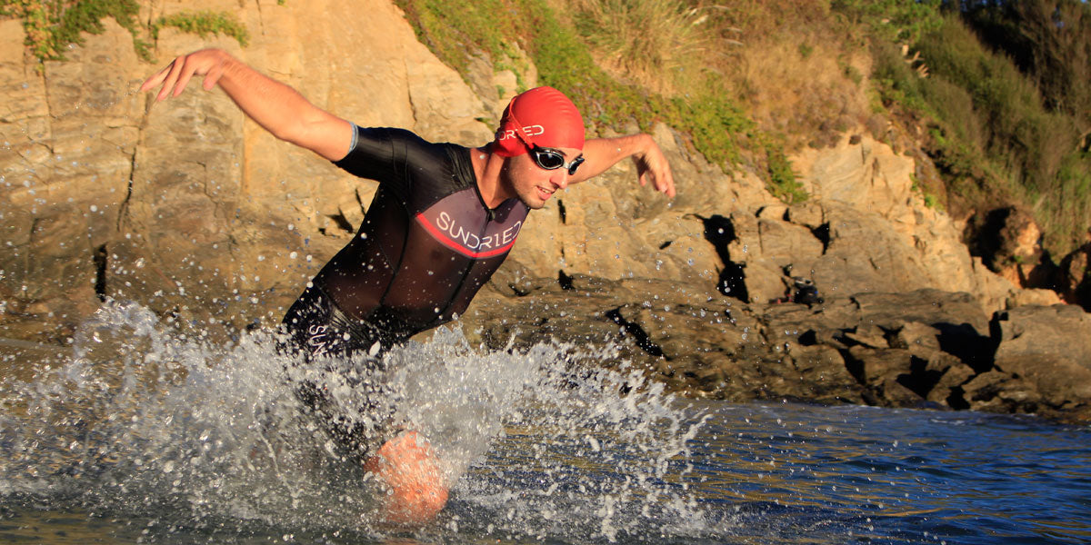 open water swimming triathlon training