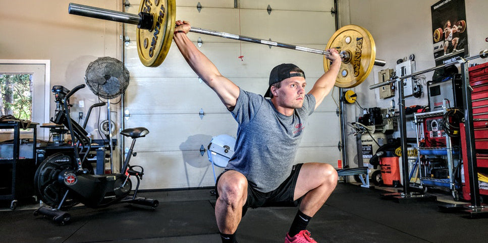 overhead barbell squat