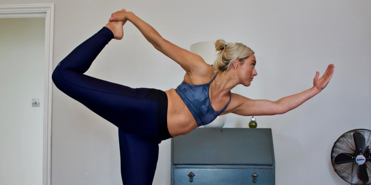 personal trainer yoga pose