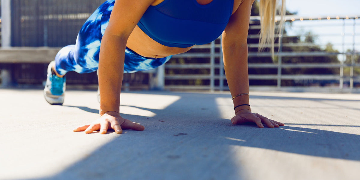 plank push up gym workout fitness