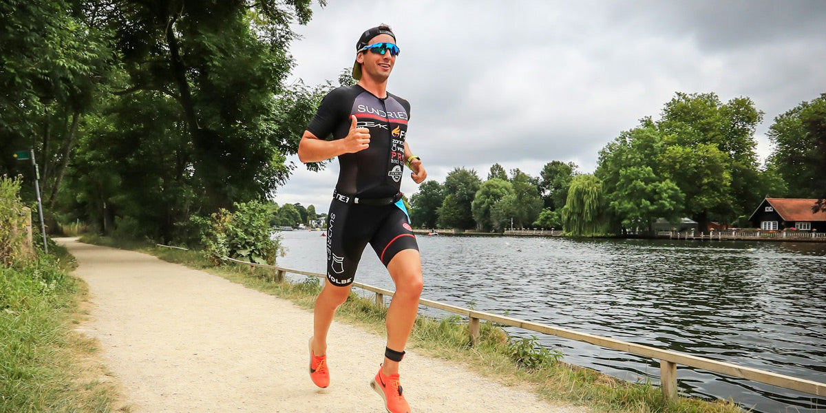 Professional athlete elite triathlete Sundried activewear