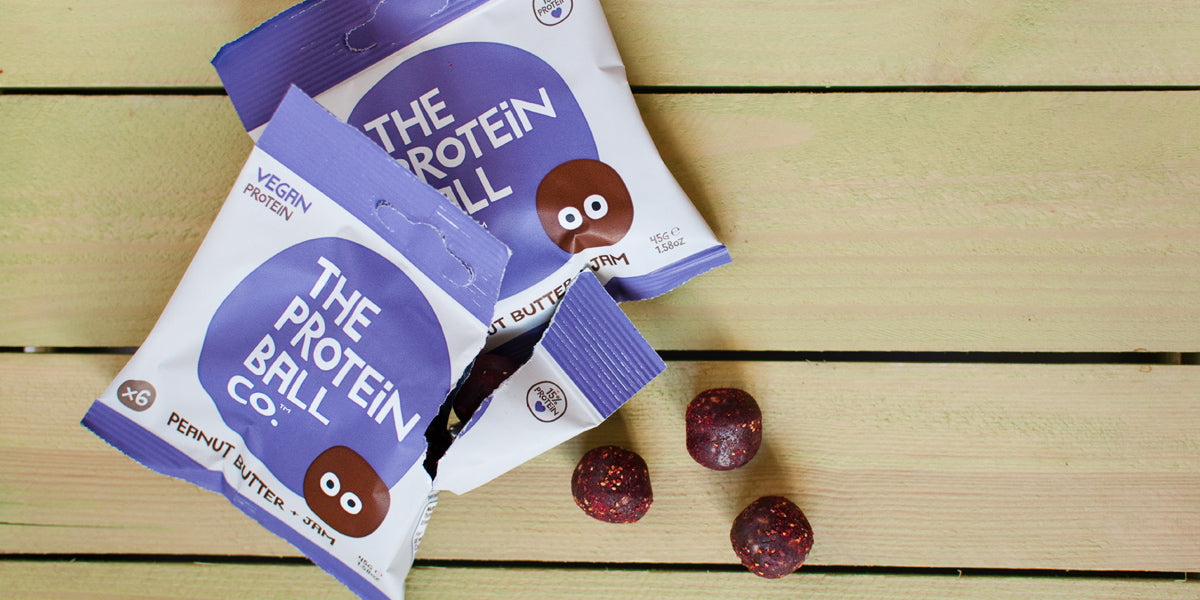 The Protein Ball Co Healthy Snacks Raspberry Brownie Review