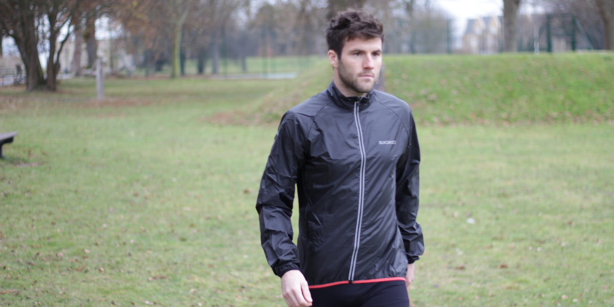 running jacket waterproof winter training