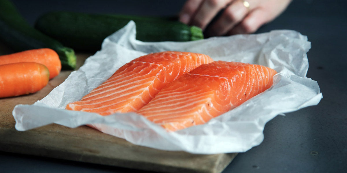 salmon oily fish healthy protein