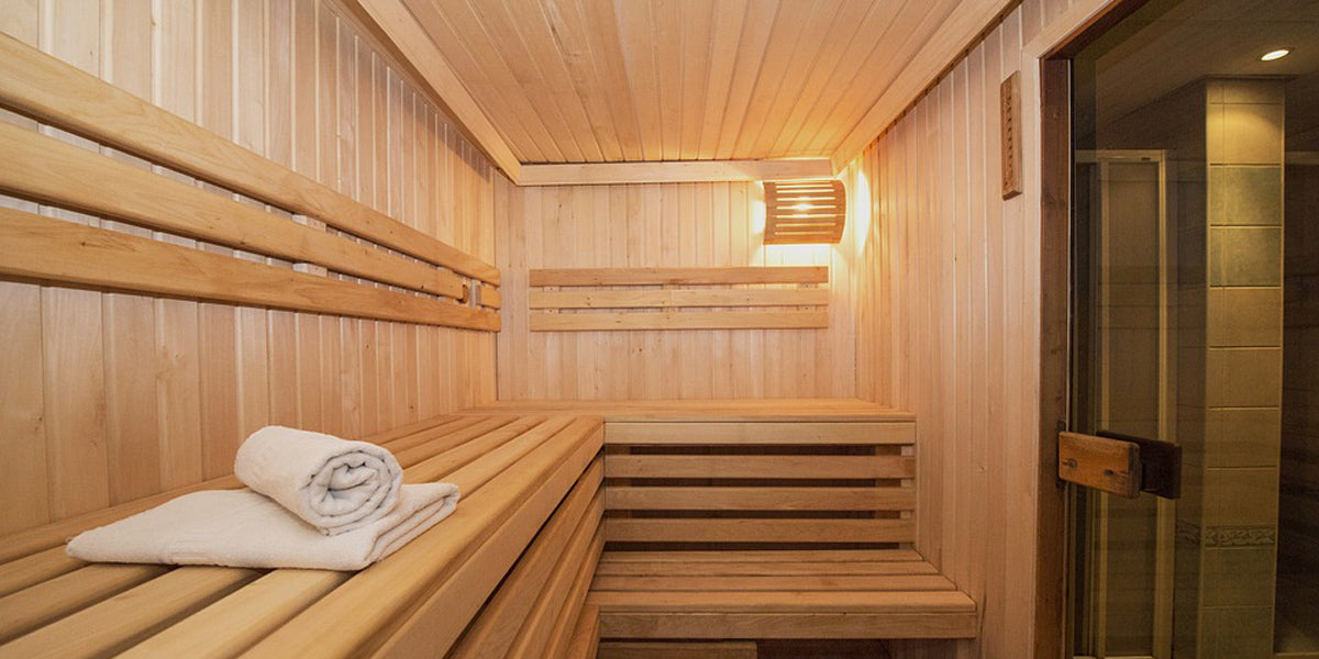 sauna steam room recovery workout