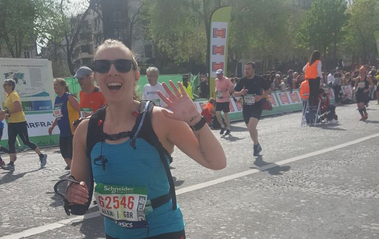 Paris Marathon 2018 running race report Sundried