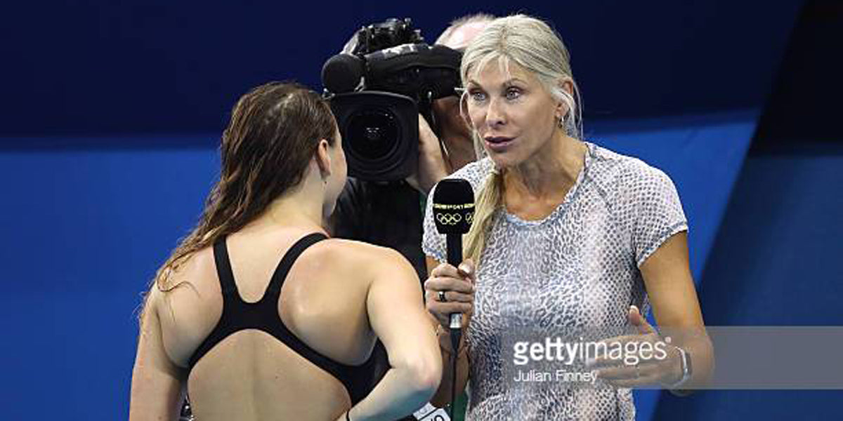 Sharron Davies Commonwealth Games BBC Coverage