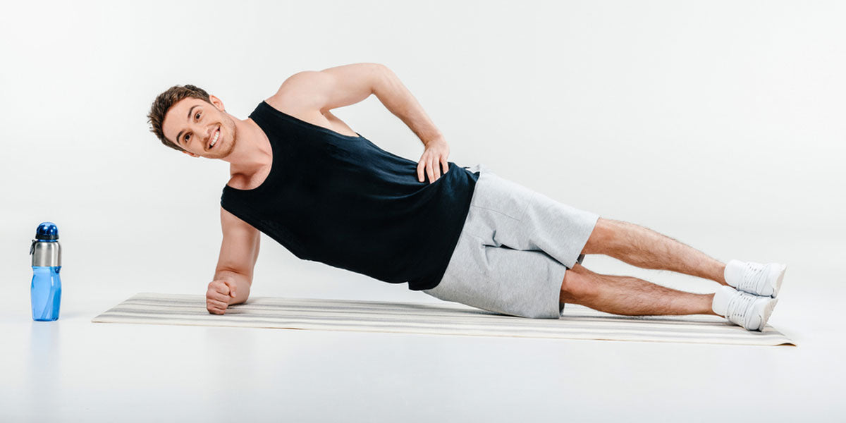 side plank core exercise workout